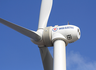 3.0MW permanent magnet direct-driving wind turbine