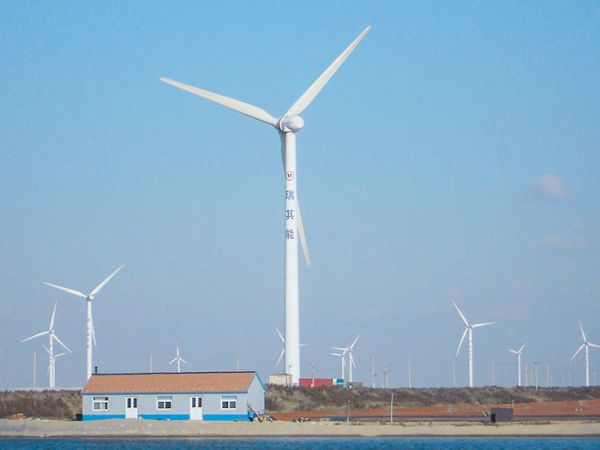Dezhou wind power plant project
